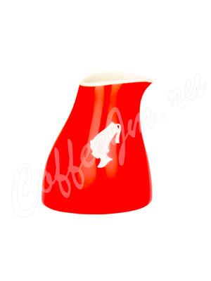 Сливник-молочник Julius Meinl красный из фаянса